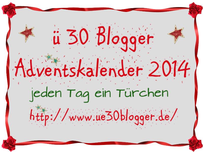 Ü30 Blogger Adventskalender - Ich bin dabei!