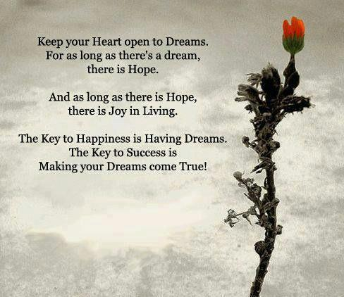 keep your heart open to dreams quotes and stories