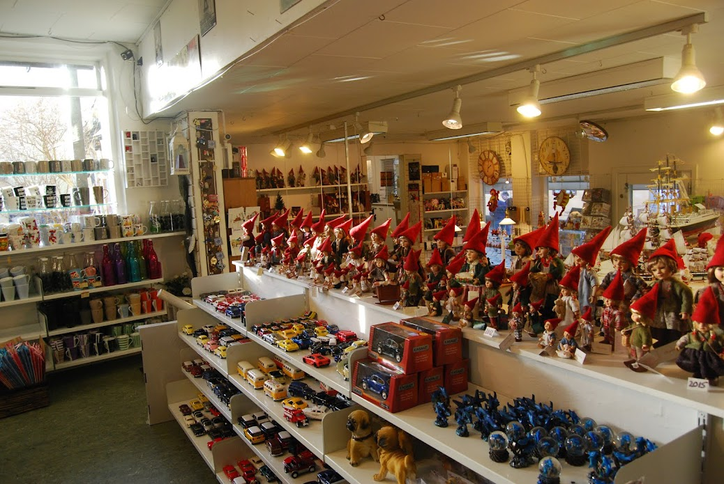 Christmas shop, Ebeltoft