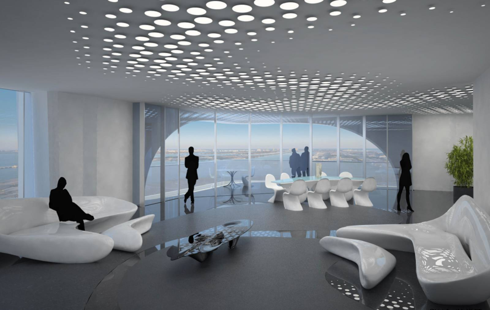 Deconstructivism Furniture Interior Design ~ Architecture now and the future one thousand museum tower