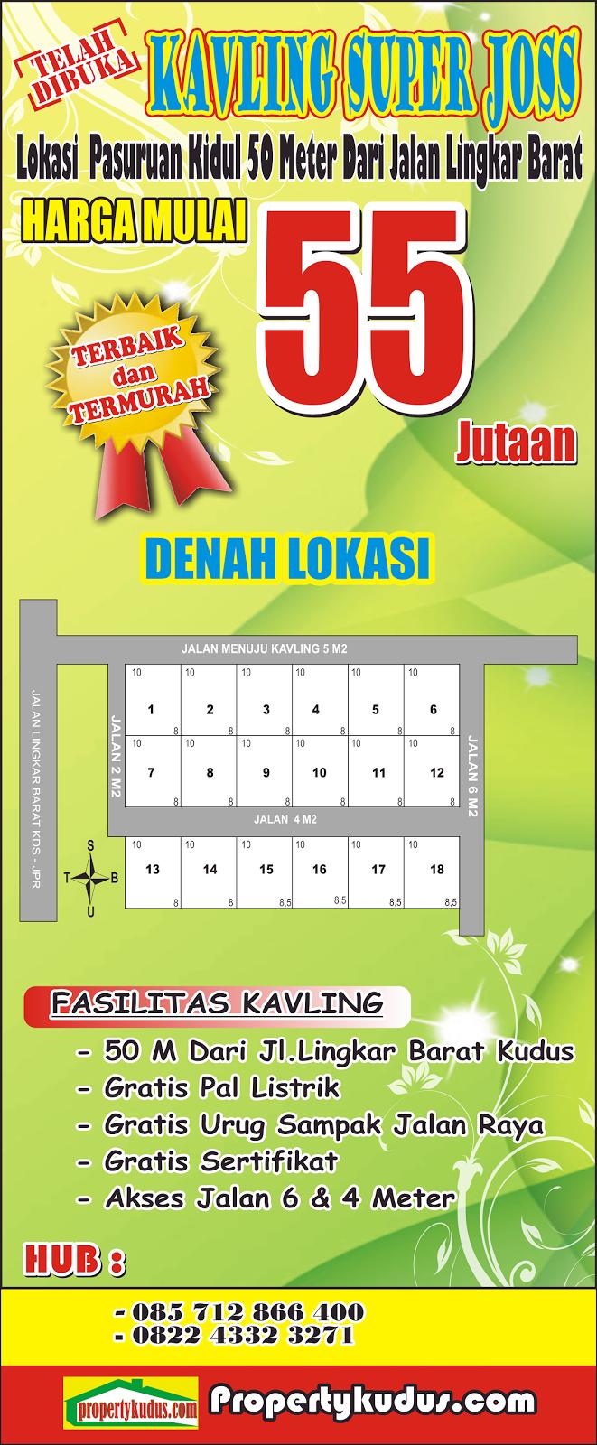 http://www.propertykudus.com/2015/06/kavling-pasuruan-kidul-50m-dari.html