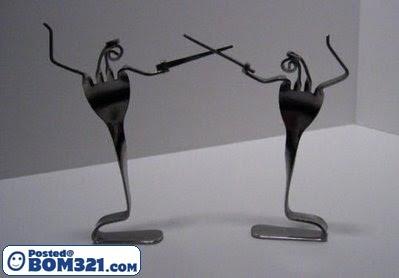 Seni Dari Garfu garpu