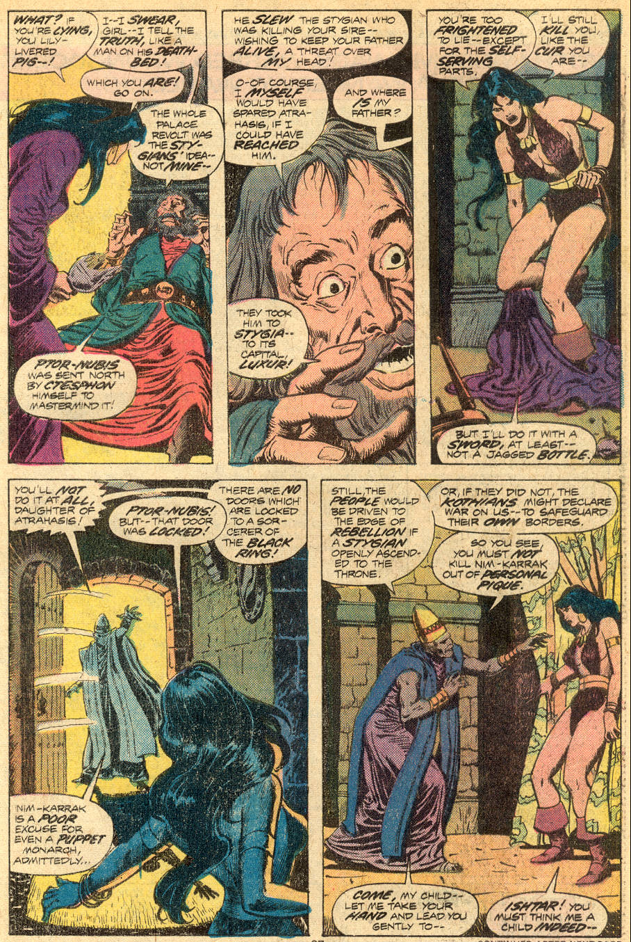 Conan the Barbarian (1970) Issue #72 #84 - English 16