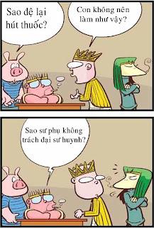 Tây Du Ký hài: No smoking!