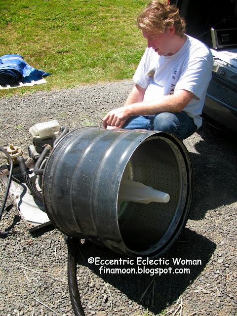 used washing machine drum
