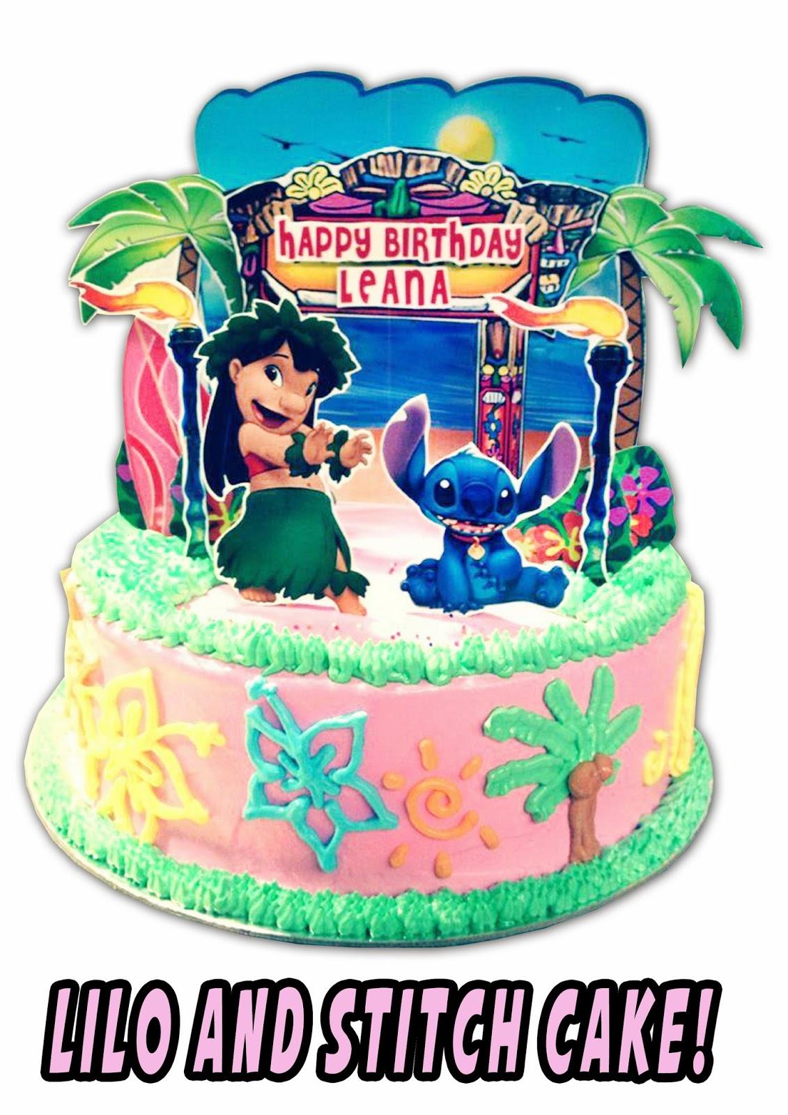 Popcakes Lilo And Stitch Cake