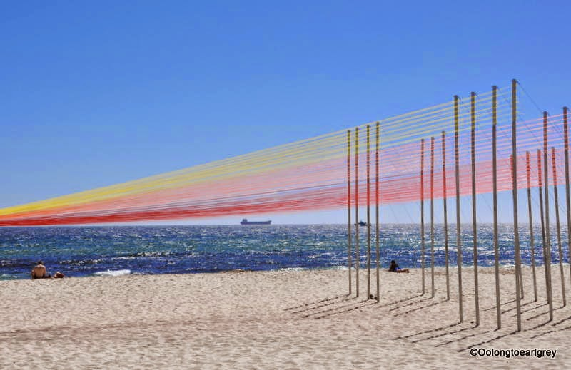 Sculpture by the sea, Cottesloe 2014, permanent sunset