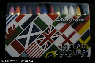 Face Paint set Sport Country Flags by Theatrical Threads Ltd