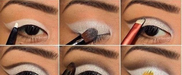Classy eye makeup