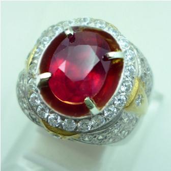 batu permata natural ruby biasa disebut batu permata ruby batu permata