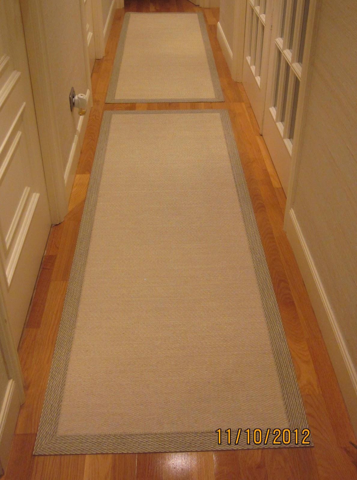 Decorar con cortinas y mucho m s el pasillo de vinilo - Alfombras para pasillos modernas ...