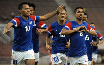 Malaysia vs Hong Kong 3-0 Aksi Persahabatan