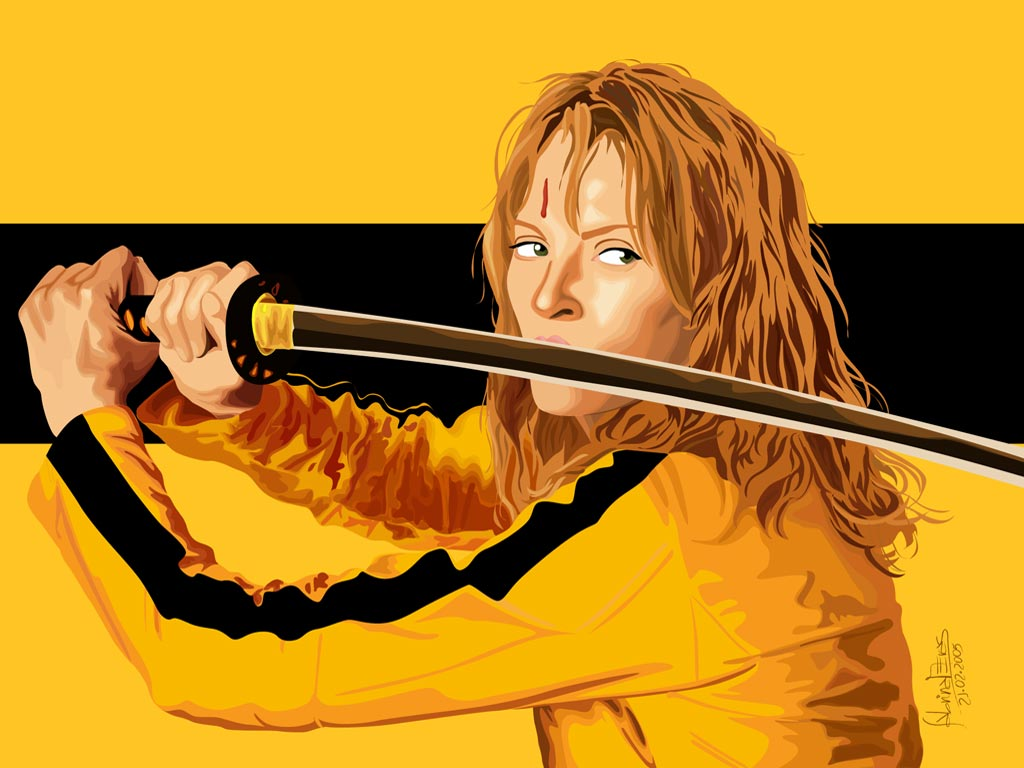 kill bill Uma thurman blames director quentin tarantino for a permanently damaged neck and screwed up knees during the filming of kill bill.