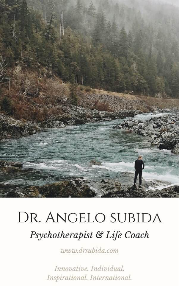Dr. Angelo Subida, Psychotherapist & Life Coach