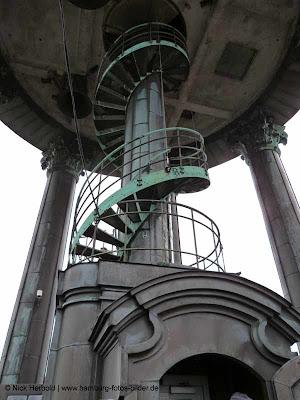 Michel, Aussichtsplattform, Wendeltreppe