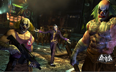 Your number 1 toys collection source new batman arkham city wallpapers made from video game - Joker brand wallpaper ...
