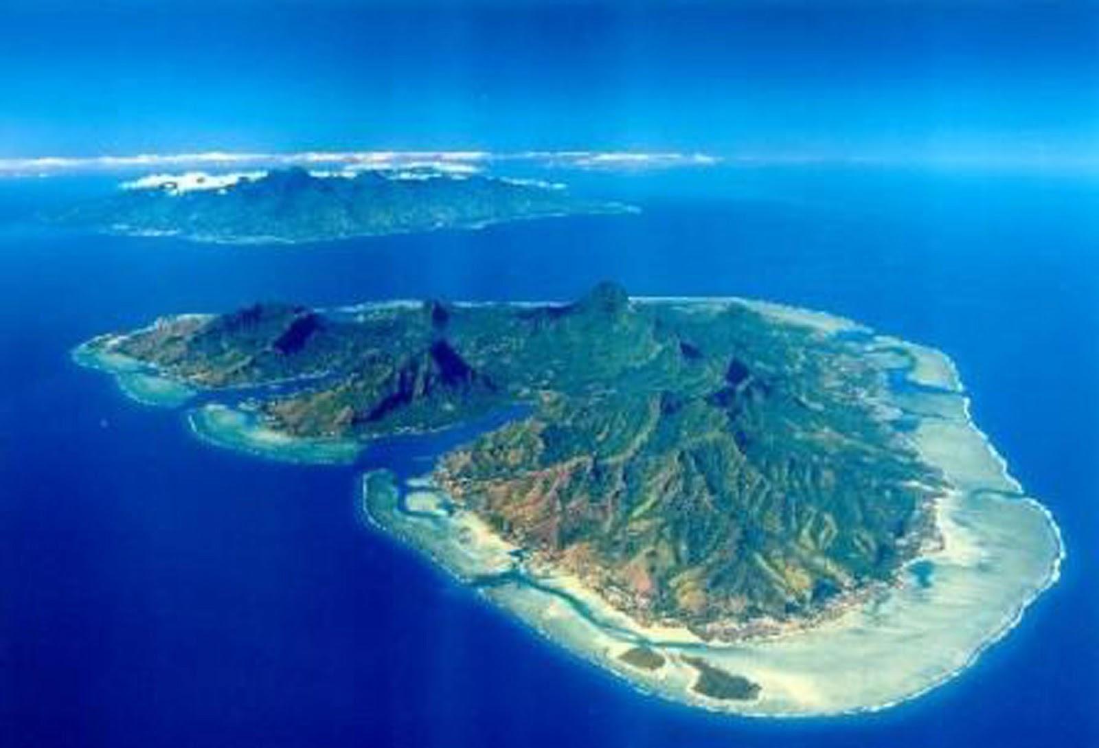 Tahiti ses les et autres bouts du monde Moorea the sister island