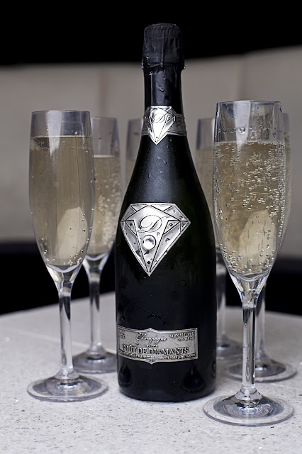Alexander Amosu creates world's most expensive Champagne