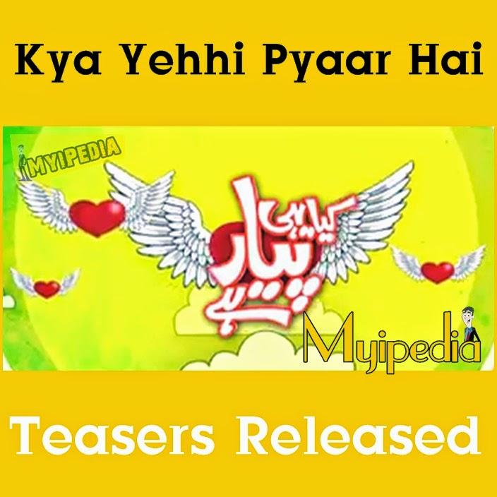 Kya Yehhi Pyaar Hai on Express Entertainment