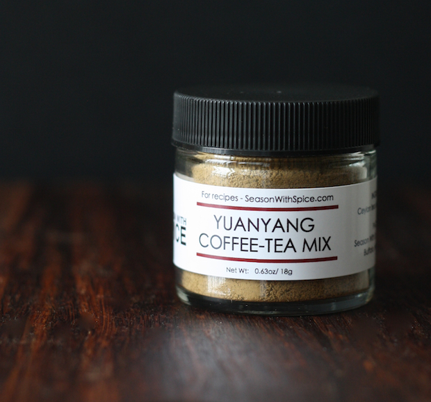 Yuanyang coffee-tea blend available at SeasonWithSpice.com