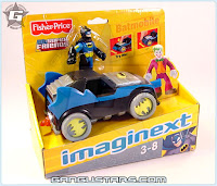 Fisher-Price Imaginext DC Super Friends Batman Batmobile アメコミ バットマン トランスフォーマー