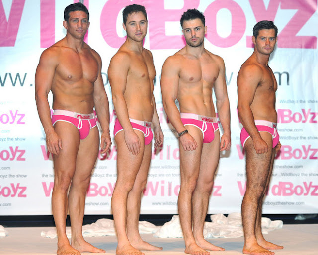 'WildBoyz' • From left to right: Alex Reid, Marcus Patrick, Dale Howard and Danny Young.
