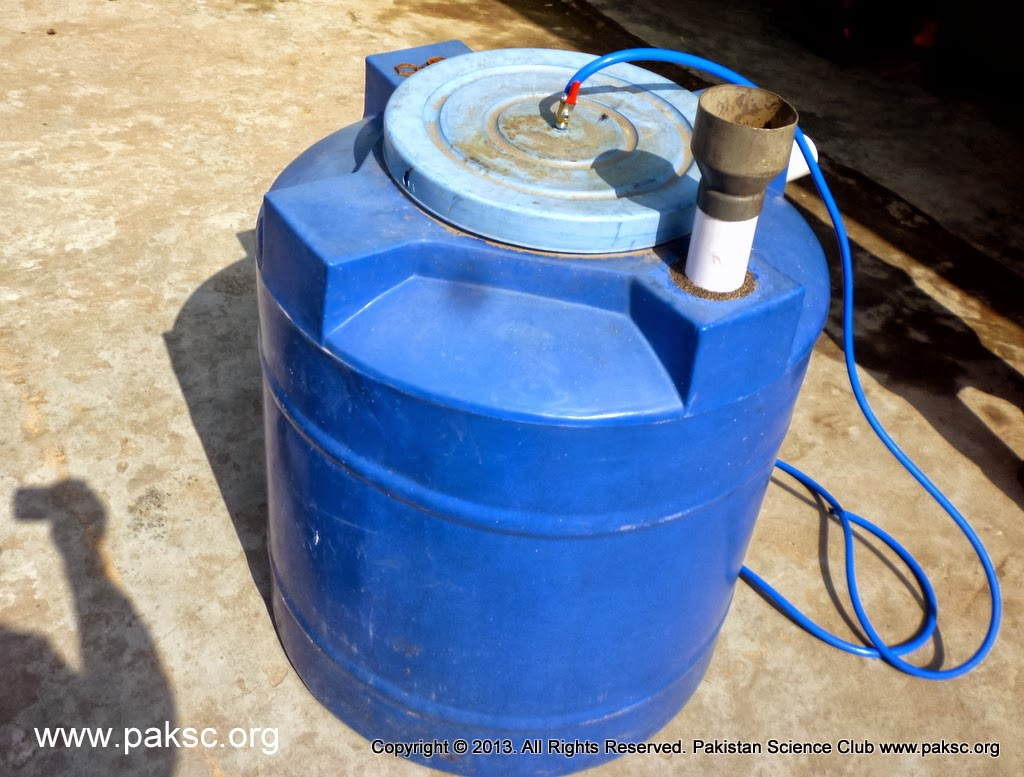 Homemade Medium Size Biogas Plant For Kitchen Waste Technology Download Digester Diagram Inlet System Of
