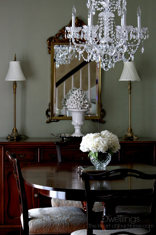 New dining room centerpiece dwellings the heart of your home