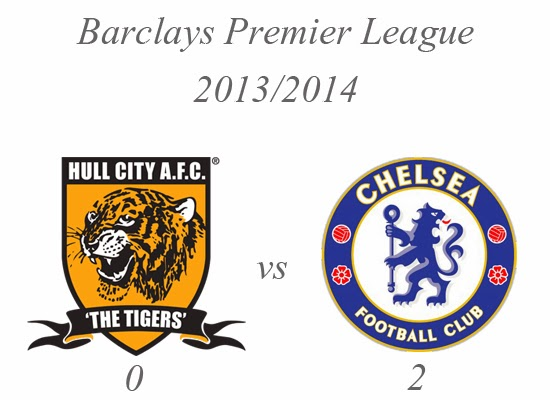 Hull City vs Chelsea Result Barclays Premier League 2013