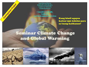 Seminar climate Change and Global Warming
