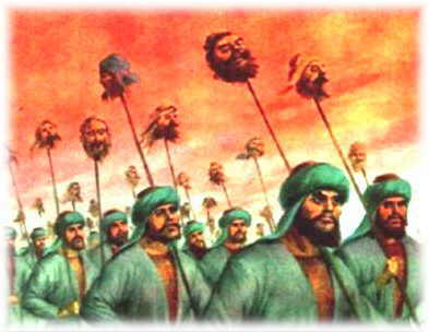 shocking facts about mughal empire in india - Babur loved beheading