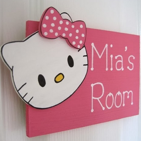 desain kamar tidur tema hello kitty desain rumah