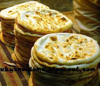 Наан. Индийская кухня.