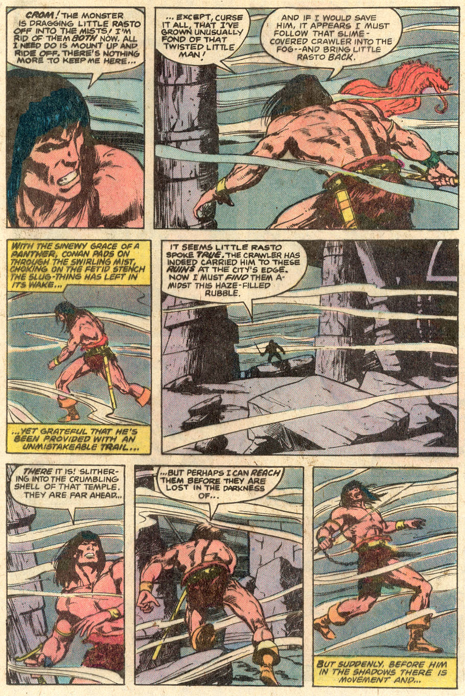 Conan the Barbarian (1970) Issue #116 #128 - English 16