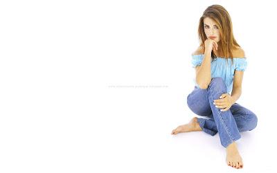 Ada Nicodemou HD Blue Wallpapers