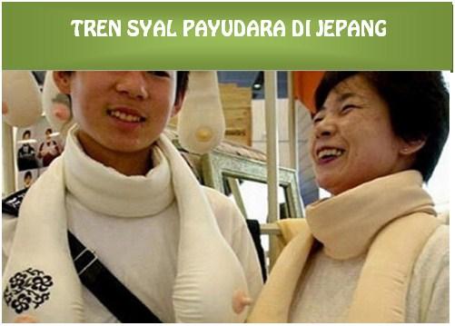 Keunikan Syal Payudara di Jepang, Sekarang Jadi Tren