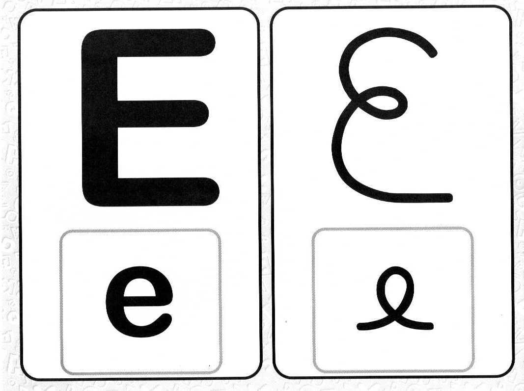 Alfabeto De Parede 4 Tipos De Letras   Ensinar Aprender Blogspot