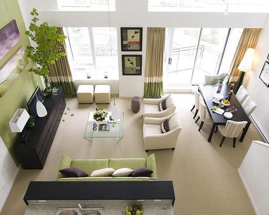 Living Room Design Ideas Green