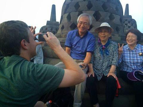 Foto Mark Zuckerberg Di Candi Borobudur, Magelang, Jawa Tengah