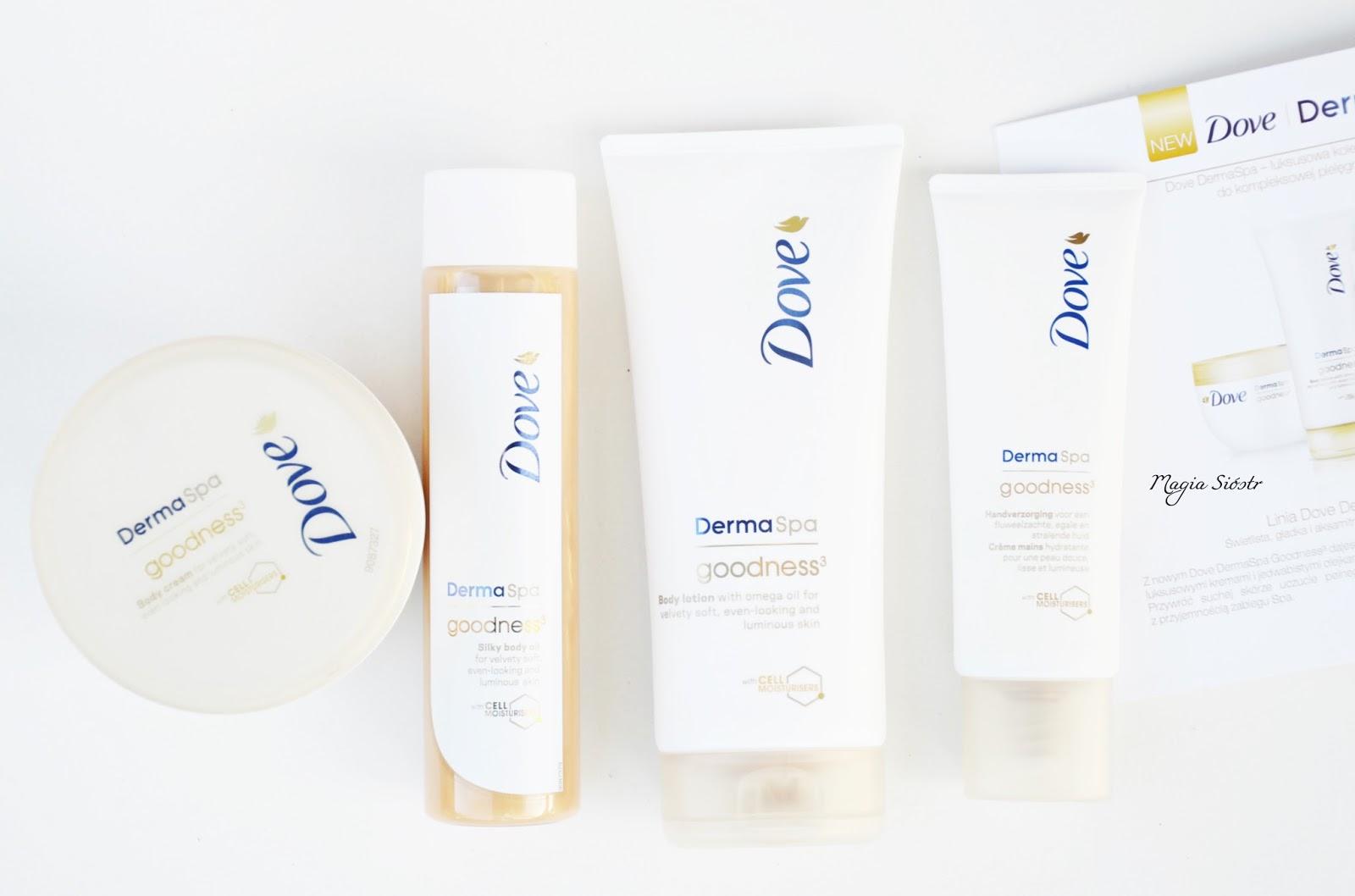 Dove DermaSpa, kosmetyki do suchej skóry