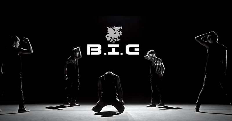 Poster B.I.G (Boys In Groove)