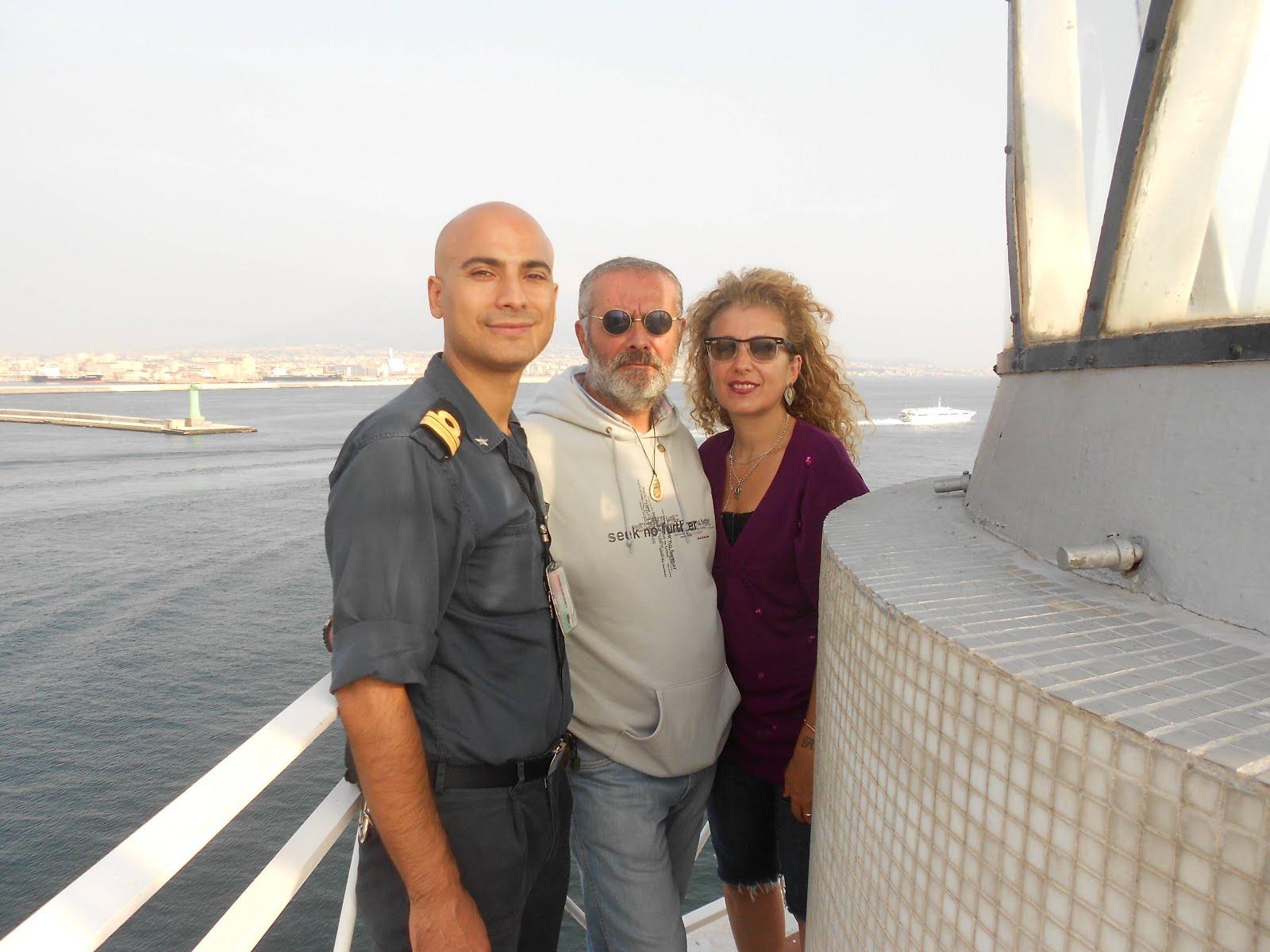 Con Alessandra De Tilla ed Errico Caruso