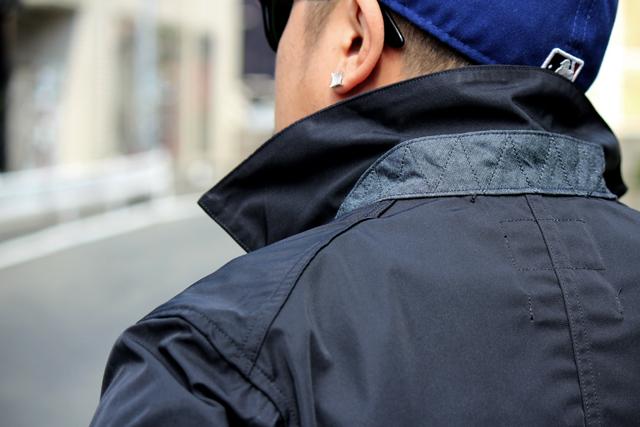 nisushotel mvp corona ナイサスホテル 14fw updustercoat jacket nylonjacket