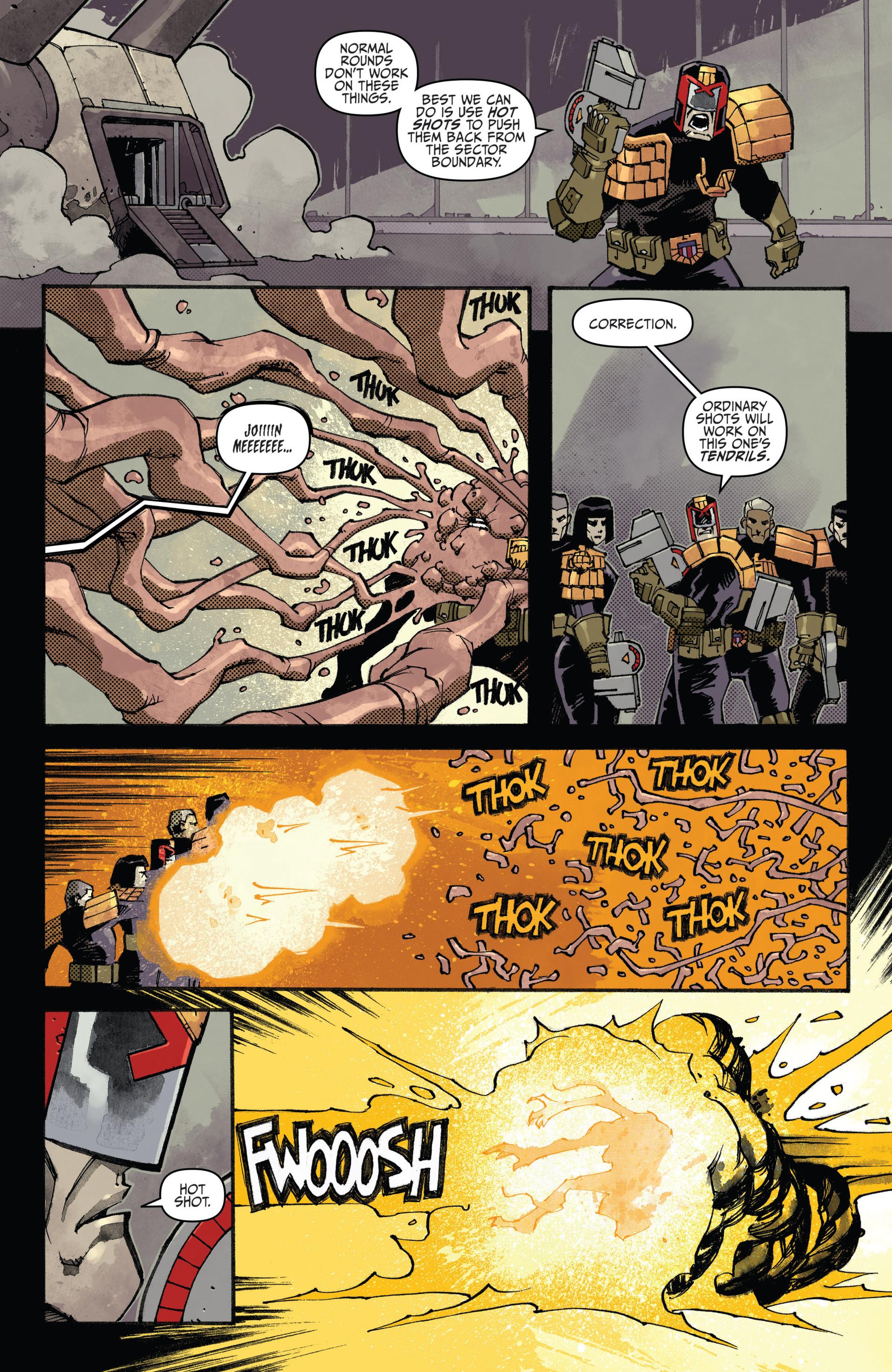 Read online Judge Dredd (2012) comic -  Issue #20 - 17
