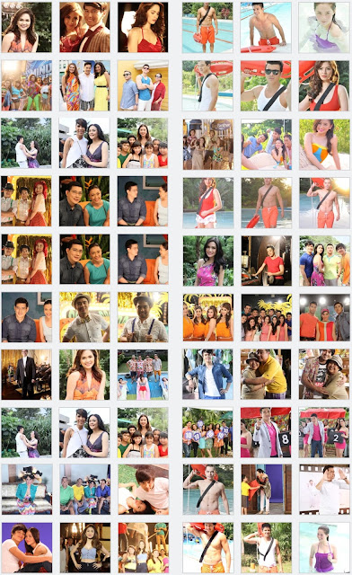 ABS-CBN 2013 Summer Station ID snapshots (open image in new tab to enlarge)