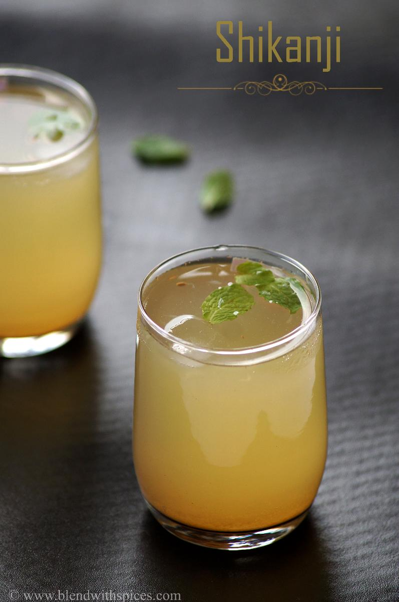 Shikanji Recipe - Indian Lemonade Recipe - How to make Shikanji, Nimbu Pani Recipe