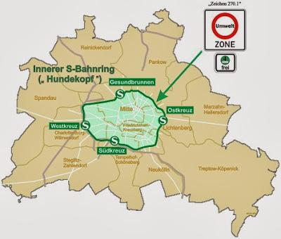 Straßenverkehr: Feinstaubgrenzwert in Berlin 2013 an allen Messstationen eingehalten