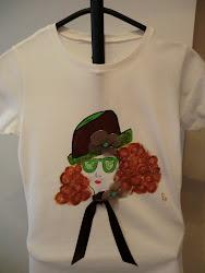 Camiseta Mujer Sombrero