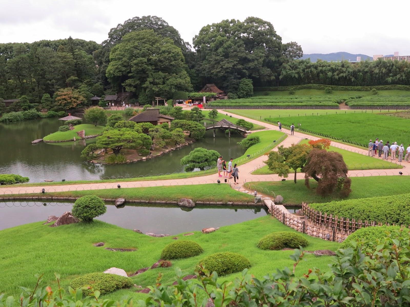 Jap n en 3 semanas d a14 de miyajima a osaka for Jardin korakuen
