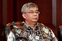 Akil Mochtar Ketua MK Disuap 3 Miliar